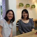 大学4年となった花穂・聡子。就職の報告に訪れてくれました。