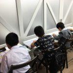 マリン2ndでは、毎日自習する子どもたちの姿があります。