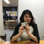 これまた卒塾生が、取りたてホヤホヤの免許とともに。みんな大人になっていくんですねえ。