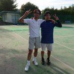 土曜日、朝練テニスにて6,7年ぶりに塾生と再会。朝練から始まる1日は、爽やかです。