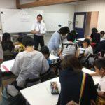 福島大学附属小学校受検対策講座の様子