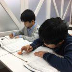 小4生 小6生 附属中受験クラス どのクラスも冬期学習会へ熱く参加してくれています!!