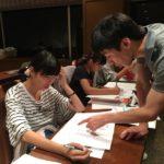 「夏期合宿」夜の部 総復習で締めくくる初日!