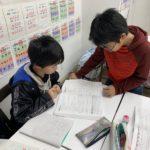 マリン教室 冬期学習会、各学年盛り上がっています!