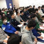「あなたを包むすべてが、やさしさで溢れるように」中3最終授業で受験生たちを送り出しました。