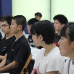 凛とした集中環境の「中3アビリティ夏期学習会」がスタートしました。