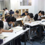 中1夏期学習会 課題解決型で学ぶ夏がはじまりました。