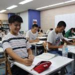 中学生が高校生と共に学ぶ姿、期間限定ですが「いい感じ」でした。