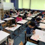全国統一小学生テスト、みんな頑張りました! 多数のご参加ありがとうございます!
